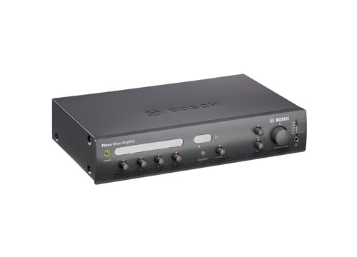 BOSCH PROFESSIONAL PUBLIC ADDRESSING AMPLIFIER UNIT