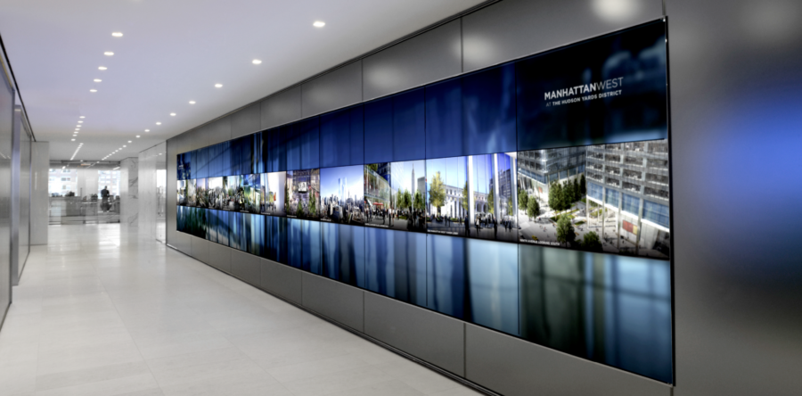 Video Wall Adax Business Systems